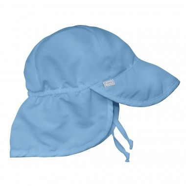 ad780dfb8d58e UPF 50 Sun Hat with Tie for Baby Little-Minnows.com
