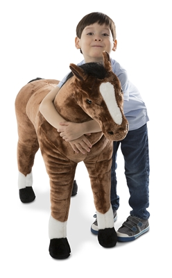 Melissa And Doug Horse Giant Stuffed Animal Available At Little